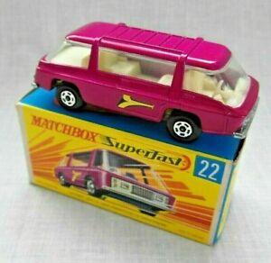Matchbox Superfast 22 Freeman Intercity Commuter Mint Boxed.