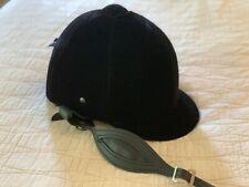 Equi Royal Saddlery Vintage Velvet Riding Helmet, Size 7 3/8