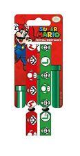 Nintendo Wristbands Super Mario luigi new Official 2x Fabric Strap Festival