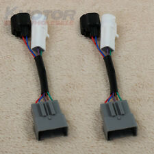 LH RH Pair Set Mirrors Power Heated Upgrade Harness Adapter For Excursion 00-01