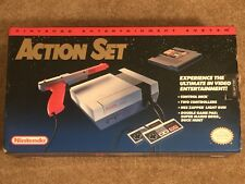Original Nintendo Entertainment System NES Action Set Gray Console - BOX ONLY!!!