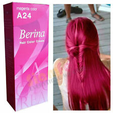 Berina Permanent Color Hair Dye Cream Magenta # A24