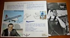 RAF TP12 CONCORDE CAPTAIN BRIAN TRUBSHAW SIGNED OWN CONCORDE FLOWN COVER