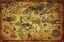 THE LEGEND OF ZELDA - HYRULE MAP 91.5 X 61CM MAXI POSTER NEW OFFICIAL