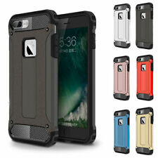 For iPhone XS Max 8 7 6S Plus 5 Silicone Bumper Heavy Duty Safe Tough Case Cover
