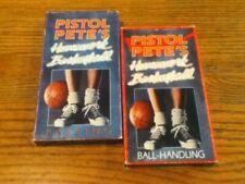 PISTOL PETE'S HOMEWORK BASKETBALL -  BALL-HANDLING, PASSING VHS