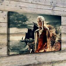 Game of Thrones Khaleesi Painting HD Print on Canvas Home Decor Wall Art Picture