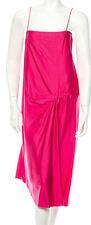LANVIN Spaghetti Strap Silk Dress SZ 36 = Fits US 0-2 - NWT RT $1,790.00