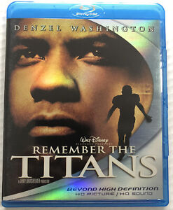 Remember the Titans (Bluray, 2007, Disney, OOP) Canadian