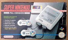 Super Mario World Boxed Console Bundle - Super Nintendo SNES. Used.