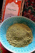 Henna Powder 100 gms (Lawsonia inermis)  ~  Fresh 2017 Harvest Henna