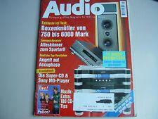 AUDIO Hifi Zeitschrift Heft 6/1996