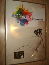 DVD N°14 L'ACCADEMIA CORSO PRATICO DI DISEGNO E PITTURA DISEGNO 5 OLIO 4 RBA