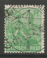 "Estampillas-Alemania-zona soviética. 1948. 84pf. ""Schwerin"" Michel: 181 VIII. geprüft"