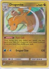 Pokemon TCG SM Team Up 119/181 Dragonite Holographic Rare Card