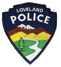 LOVELAND COLORADO CO Sheriff Police Patch ROCKY MOUNTAIN PASS ~