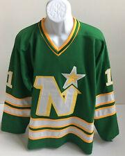 9fa9694fda2 Gump Worsley # 1 Minnesota North Stars NHL Hockey Jersey Size L. L