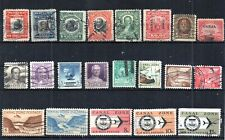 United States Canal Zone. Selection Of 21 Different Stamps.