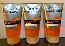 Lot of 3 L'Oreal Men Expert Hydra Energetic Face Wash Icy Gel (Free Shipping)