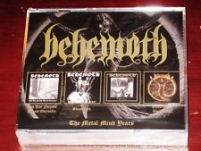 Behemoth: The Metal Mind Years 4 CD Box Set 2018 Forests, Sventevith, Grom NEW