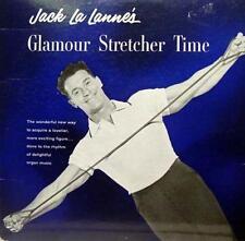 JACK LA LANNE glamour stretcher time LP VG GST 2 Vinyl 1959 Record