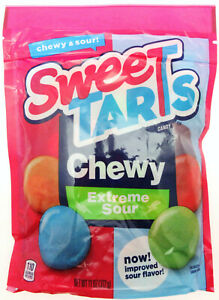 Sweetarts Extreme Sour Chewy Candy ~ 11oz bag ~ Sweet Tarts Resealable Bag