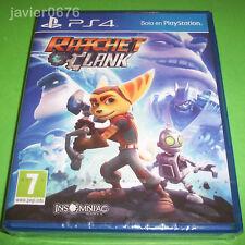 RATCHET & CLANK NUEVO Y PRECINTADO PAL ESPAÑA PLAYSTATION 4 PS4