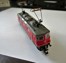 N Gauge Fleischmann 7343 SBB 4/4 DCC Fitted with Raising and Lowering Pantograph