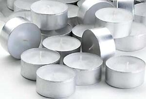 Extra Capacity 8 Hours - Tea Lights - Candles - T Lights Small Candles Tealights