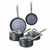 Tower TruStone 5 Piece Pan Set Non-Stick Induction Cookware Saucepan Set