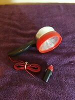 Vintage 12V Emergency Spot Light Made In Hong Kong