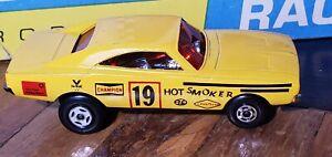 Matchbox Superfast No RN V Hot Smoker Yellow 4 Spoke Front 5 Spoke Rear, NM RARE