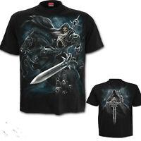 SPIRAL DIRECT GRIM RIDER BLACK T SHIRT S to XXL Goth Gothic Horse Sword Rider