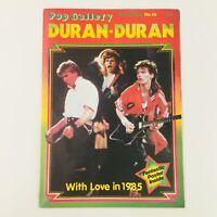 Pop Gallery Poster Magazine #16 1985 Duran-Duran Feature, No Label VG