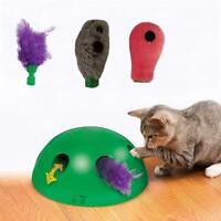 Elektronisch Haustier Spielzeug Interaktive Katzenspielzeug Maus Zubehör Fe N8Q5