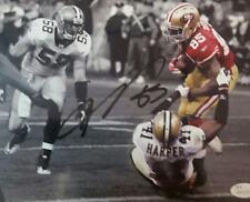 "Vernon Davis signed 8x10 49ers photo "" the catch 3"" JSA"