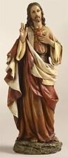 Joseph's Studio by Roman 10.25 Inch Tall Sacred Heart of Jesus figure, Made of S