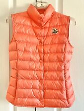 100% AUTH MONCLER Girls Down Vest 12 Y