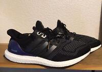 Men's Adidas Ultra Boost 1.0 OG Sz 10 Core Black Gold Metal Purple B27171 Kanye