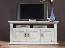 TV - & HiFi-Tische im Vintage -/Retro-Stil aus Massivholz