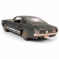 Xmas Old Vintage Diecast Model Car 1967 FORD Mustang GT Kids Toys In Box Gifts