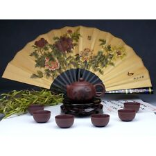 "Chinesisches Teeservice aus Yixing-Ton ""Blütentraum"" Keramik China"