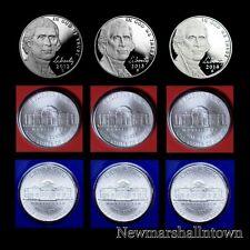 2012 2013 2014 P+D+S Jefferson Nickel Mint Proof Set ~ PD in Original Mint Wrap