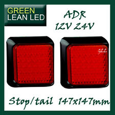 LED LAMP LIGHT TRAILER 125 series 12/24V SUBMERSIBLE CARAVAN STOP TAIL RED