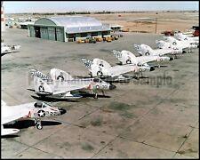 USN F4D Skyray VF-213 Blacklions NAF El Centro 1958 8x10 Aircraft Photos
