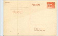 10 Pfennig Palast der Republick Orange Ganzsachen Postkarte der DDR ungebraucht