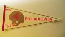 USFL Philadelphia Stars Rare Defunct Football Pennant