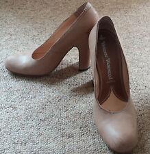 VINTAGE COFFRET beige caramel Vivienne Westwood Brushi Cuir Cour Chaussures 4 EUR37