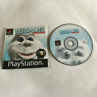 Yetisports Deluxe / Disc & Manual / Playstation 1 PS1 PS2 PS3 PAL