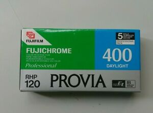 5x Fujichrome Provia 400 - 120 RHP